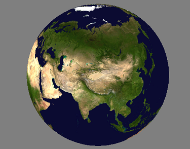 OpenGL: earth cube mapping